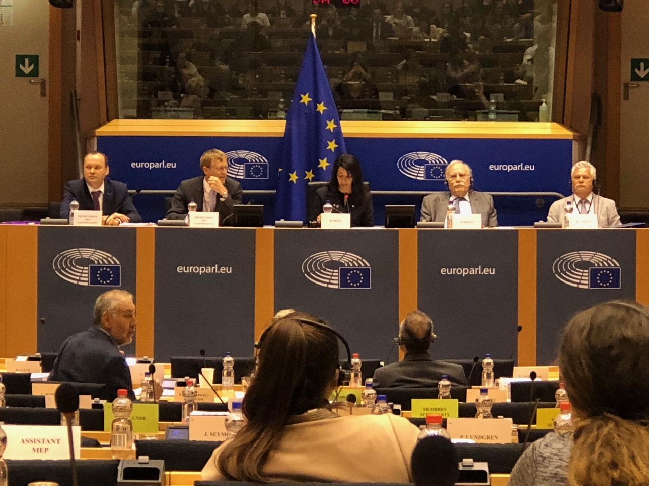 Europäische Parlament: Ausschuss für Verkehr und Tourismus 14.5.2018
